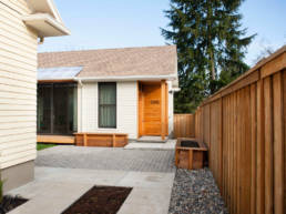 ADU- Accessory Dwelling Unit Entry