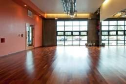 view of yoga studio room