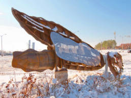 Shipshell public art city of Norfolk VA