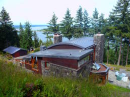 Stone house in the Sn Juan Islands