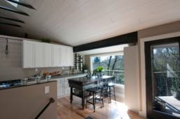 Mid-Century ranch renovation designed and engineered by rhiza A+D Kitchen Nook