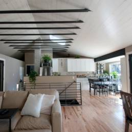 Mid-Century ranch renovation designed and engineered by rhiza A+D
